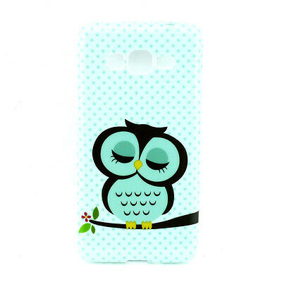Cute Sleeping Owl TPU Case Cover for Samsung Galaxy Grand Prime G530 Stylish