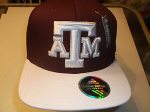 reputable site 10dd6 febfa Image is loading Texas-A-amp-M-Aggies-Climalite-Snapback-Sideline-