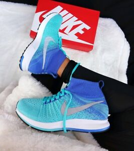 more photos 21883 4f435 Image is loading 8-WOMENS-Nike-Zoom-Pegasus-All-Out-Flyknit-