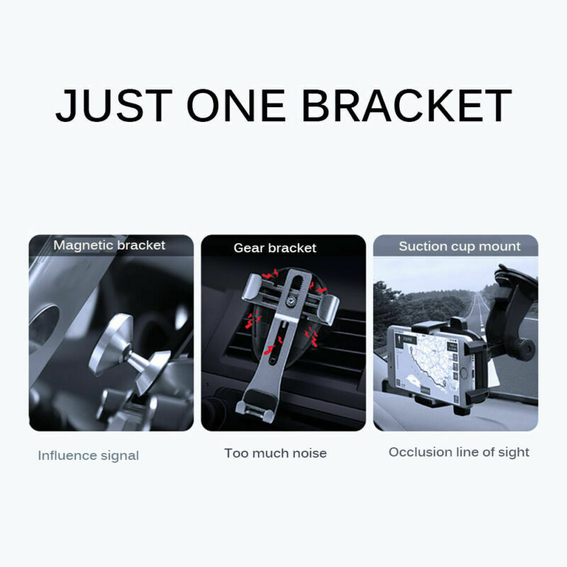 Universal 360° Gravity Car Air Vent Mount Holder Stand Mobile Cell Phone GPS New 4