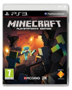 Minecraft-PlayStation-PS3-UK-Edition-menta-spedizione-il-giorno-stesso-1st-Class-consegna