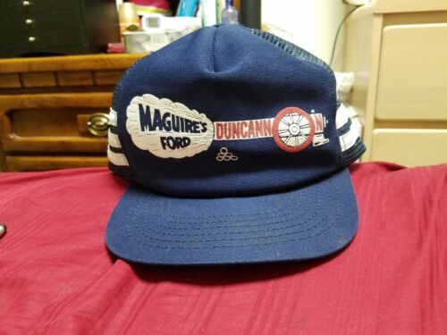 VINTAGE MAGUIRE'S FORD DUNCANNON PA 3 STRIPE SNAPB