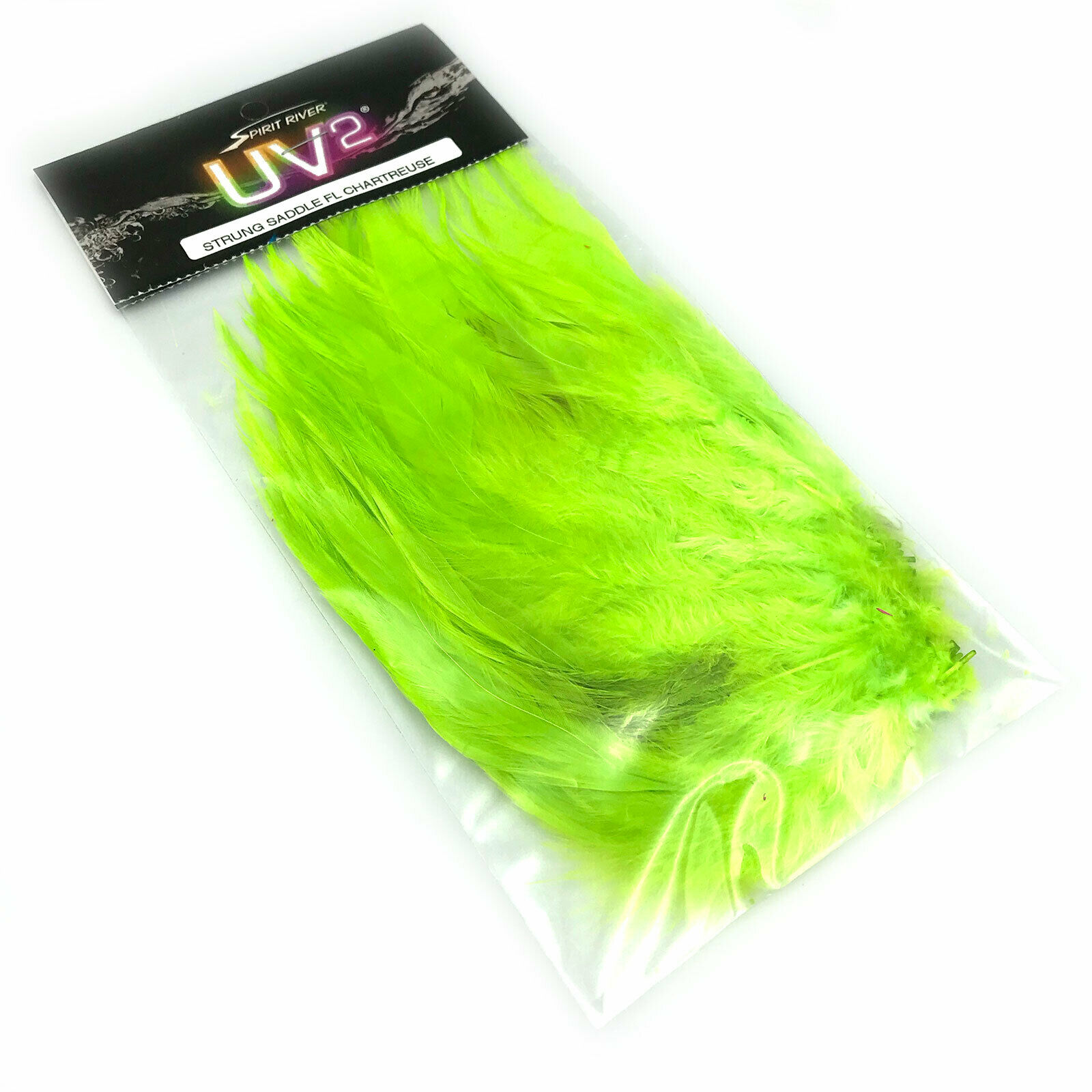 Fly Tying Spirit River Strung Marabou Insect Green
