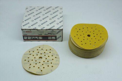 50x Bosch Schleifscheiben für Exzenterschleifer Klett P180 125mm 2608608498