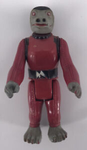 Vintage 1977 Kenner Star Wars Figures Complete Rare ANH Snaggletooth Toy CLEANED