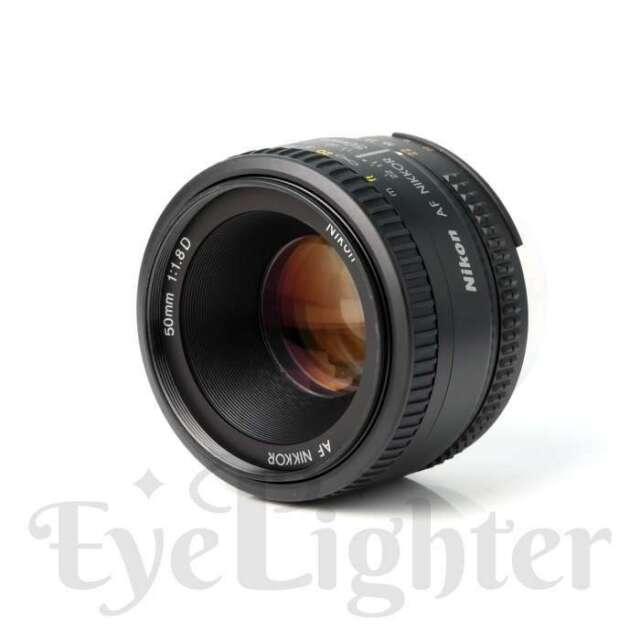 Authentisch Nikon Nikkor AF 50mm f/1.8D Lens
