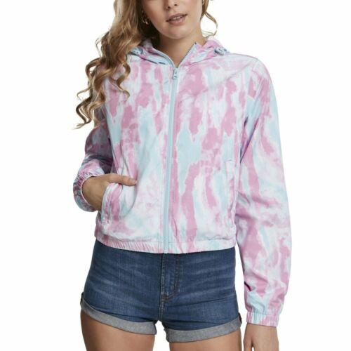 Urban Classics Ladies Tie Dye Windbreaker Jacke