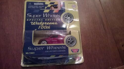 Walgreens 100th Anniversary Motor Max Super Wheels PT Cruiser Red NIP N