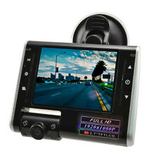 1080P Swing Lens Full HD Dash Cam Video Recorder Car CCTV Camera Vehicle DVR LCD