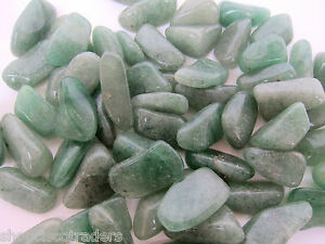 ONE-Aventurine-25mm-Tumbled-Stone-QTY1-Healing-Crystal-Reiki-Love-Money