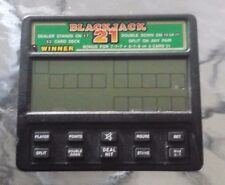 HANDHELD VIDEO/ELECTRONIC BLACKJACK GAME/WORKING NO BATTERY(S) INCLUDED