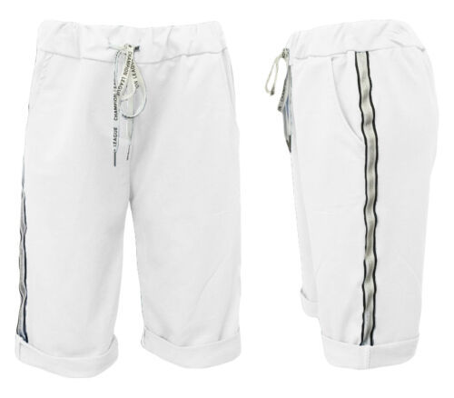Sweatshorts Uni-Femmes-Shorts-Pantalon Court-corsaire-bermuda Jogpants 36-42