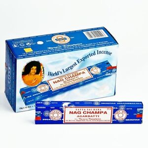 Nag-Champa-Incense-15g-x-12-Satya-Sai-Baba-Agarbatti-Insense-12-12-144-sticks