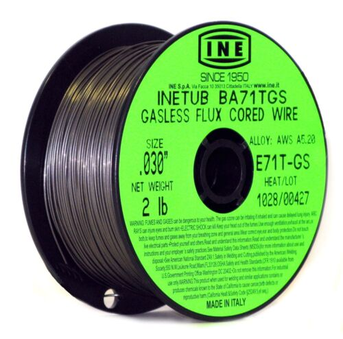 INETUB BA71TGS .030-Inch on 2-Pound Spool Carbon Steel Gasless Flux Cored