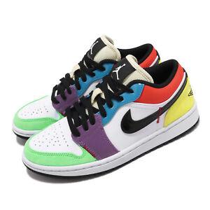 Detalles acerca de Nike Mujeres Air Jordan 1 Baja Bombilla Pascua  Multi-Color Mujer Zapatos CZ3572-104- mostrar título original