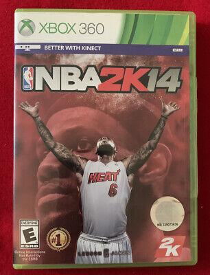 NBA 2K14 (Microsoft Xbox 360, 2013) Complete. Basketball ...