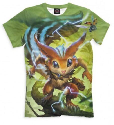 T-shirt fullprint frappe Ratatoskr