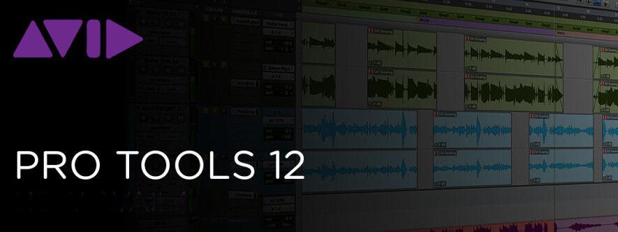 Avid Pro Tools - ProTools 12 USED PERPETUAL LICENSE INCLUDES v 10 V 11