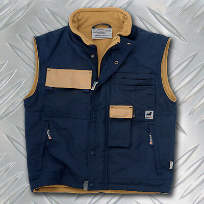 Durakit Navy Blue Body Warmer LIMITED OFFER! JUST £14.99!