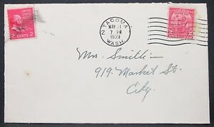 US-Envelope-Tacoma-Adams-Arbor-Day-2c-Rate-4c-1939-Mif-USA-Letter-Y-602