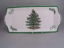 "SPODE CHRISTMAS TREE 13 1/4"" SANDWICH PLATTER."