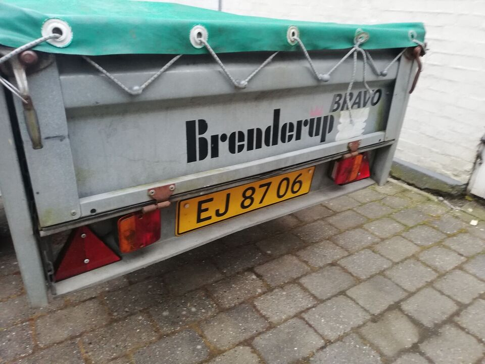 Trailer, Brenderup Bravo, lastevne (kg): 325