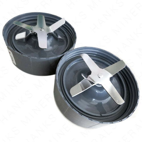2-Pack Blade Replacement For Nutribullet Nutri Bullet NB-101B NB-101S 600W 900W