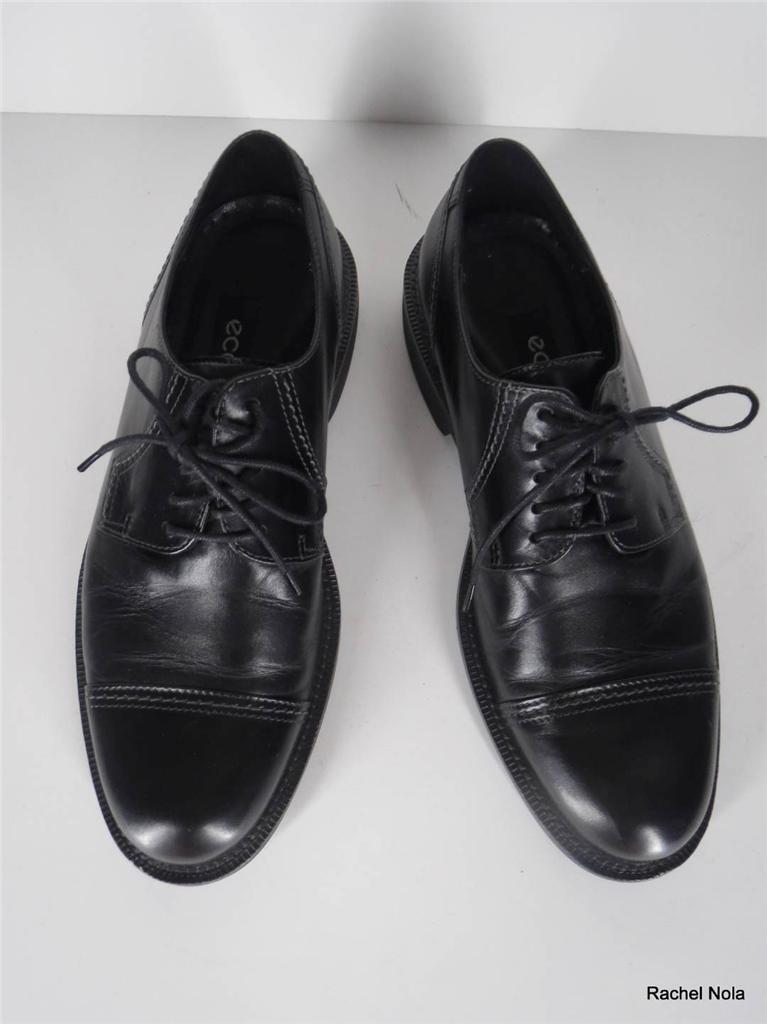 prodotti creativi Ecco Oxfords Dress scarpe Uomo Dimensione 8 8.5 8.5 8.5 42 nero Leather Lace Up Cap Toe  Sito ufficiale