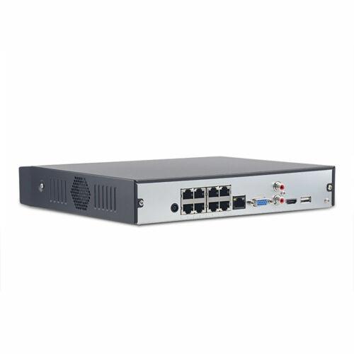 Dahua 4K 8MP NVR 4108HS-8P-4KS2 8CH CCTV Recorder P2P 8 Port H.265 Metal 30fps