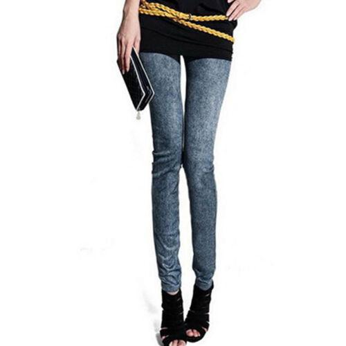Damen Skinny Jeans Stretch Röhrenjeans Hüftjeans Denim Hosen Leggin Hose Jeggins