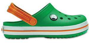 Crocs-enfants-sport-loisir-Sabots-enfants-039-CROCBAND-Sabot-Vert-Orange
