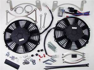 Radiator Electric Cooling Fans Range Rover Classic V8 Thermostat Adjustable