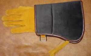 Falconry-Arab-Brown-Mangla-Glove-Mangla-with-Glove-Suede-Single-Glove