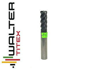 walter-paradur-VHM-Solid-Carbide-End-Mill-R1-5-10mm-TiAIN-Coat-4-Flute-No141