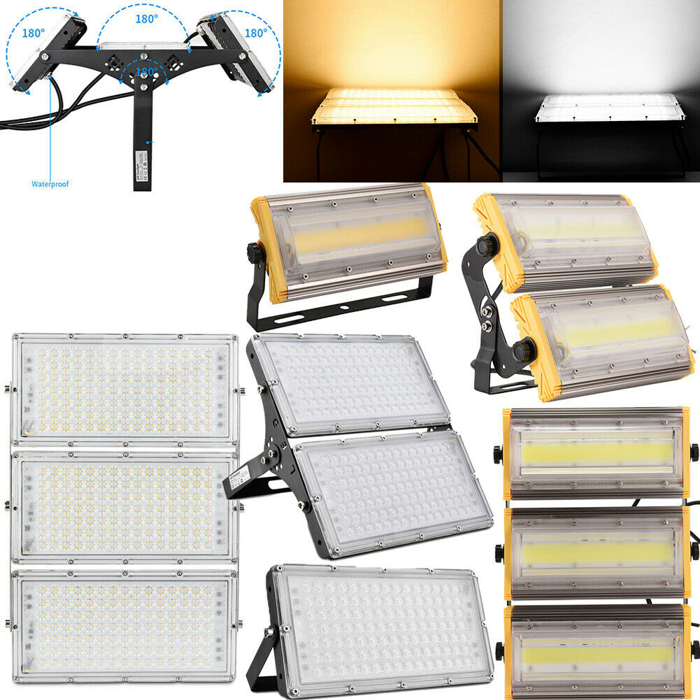 LED Fluter 50W 100W 150W 200W 300W Außen Strahler Scheinwerfer Lamp Wasserdicht