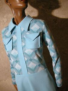 Scooter Kleid Top Chic Vintage 60s Dress Dress Vtg Twiggy Mod 38 Jersey Abito HUgvz