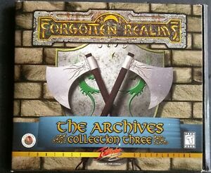 Forgotten Realms: The Archives Collection 3 PC CD Windows 95/98 3