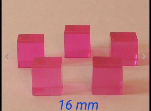 5 Rose Energon cubes pour Masterpiece Transformers MP Optimus Megatron Soundwave