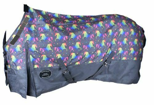 mostrareuomo Waterproof & Breathable UNICORN 1200 Denier Perfect Fit TURNOUT BLANKET