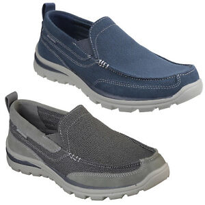 skechers relaxed fit memory foam hombre