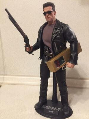 1//6 Scale Hot Toys MMS117 T2 Terminator 2 Judgment Day T800 Figure  Boots