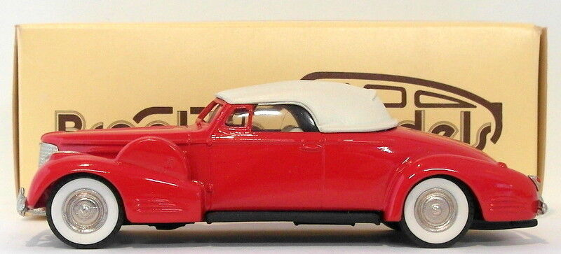 Brooklin 1 43 Scale BRK14 005  - 1940 Cadillac V16 CTCS 1983 rot 1 Of 400