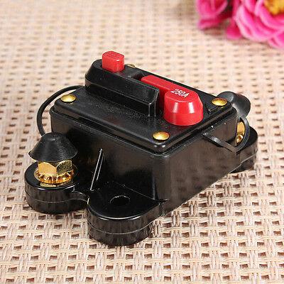 60A-250 Manual Reset Circuit Breaker 12v//24v Car Auto Boat Audio Stereo Fus TK