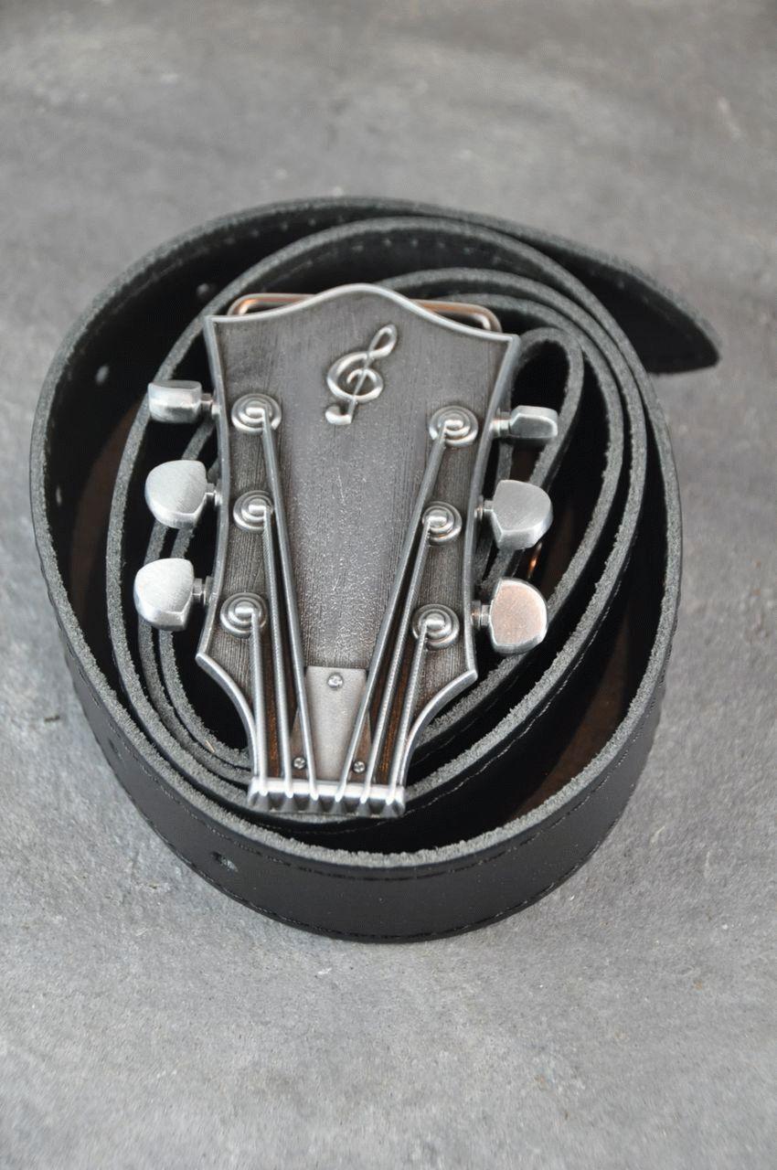 Ledergürtel Guitar Hero
