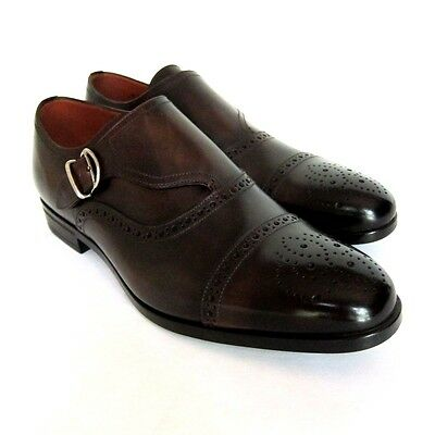 S-1898140 New Bally Lanor Brown Washed Loafers Shoes Size US 8D Marked 7E