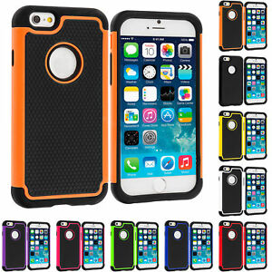 iPhone-6-6S-Hybrid-Rugged-Grip-Shockproof-Case-Tough-Armour-Cover