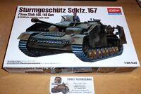 WWII german Panzer Tank Sturmgeschütz IV in  1:35 Academy 13235 Neu