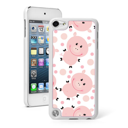 For Apple iPod Touch 4th 5th 6th Hard Case Cover 69 Happy Pigs