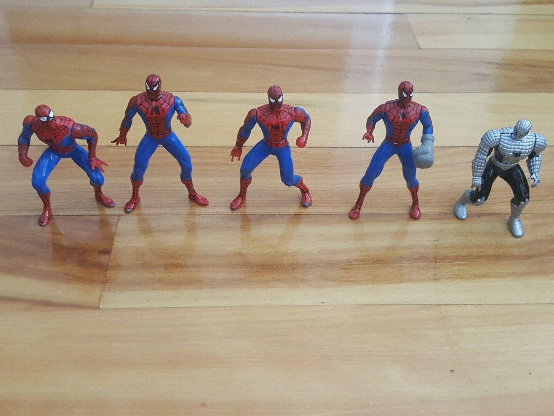 SPIDERMAN  die- cast POSEABLE action figure 3