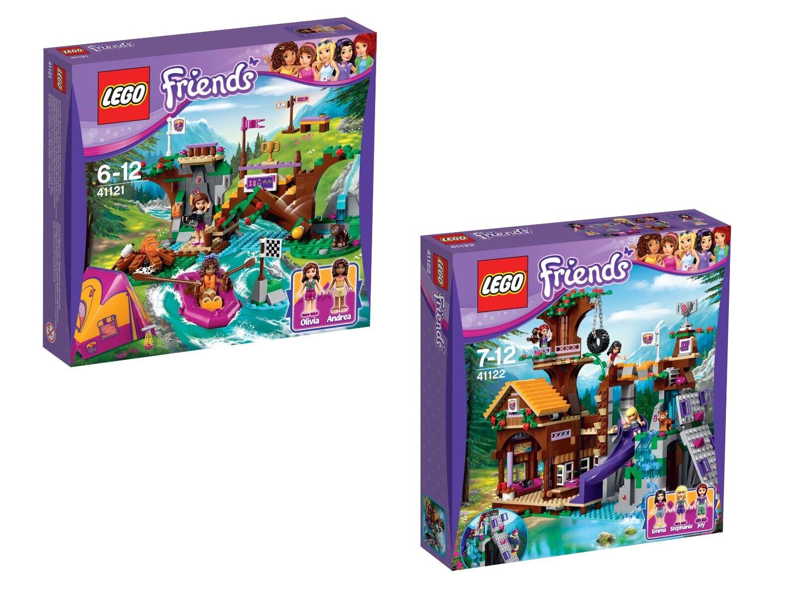 LEGO® Friends 41121+ 41122 Doppelpack  Set NEU verklebt  OVP NEW glued